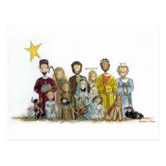 Cartão Postal Natividade do Natal