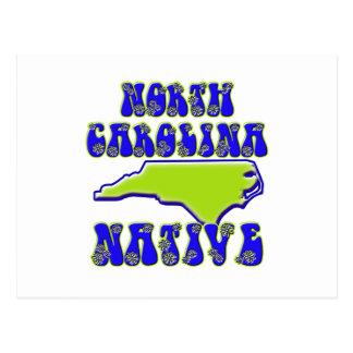Cartão Postal Nativo de North Carolina