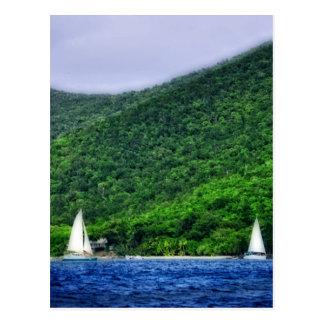 Cartão Postal Navigação em E.U. Virgin Islands