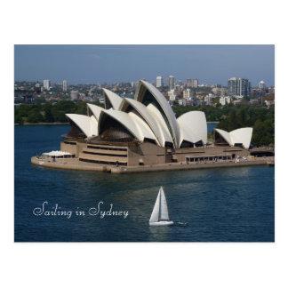 Cartão Postal Navigação em Sydney