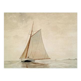 Cartão Postal Navigação fora de Gloucester por Winslow Homer