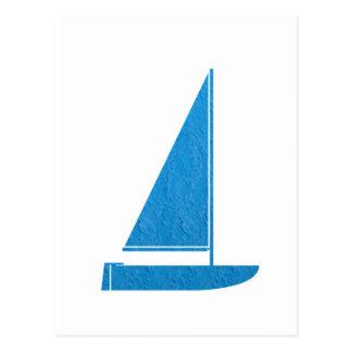 Cartão Postal navinJOSHI da ARTE NVN41 do barco de vela dos