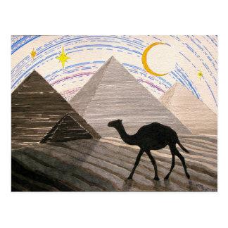 Cartão Postal Navio do deserto