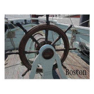 Cartão Postal Navio do tea party de Boston
