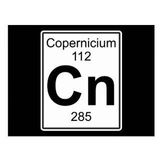 Cartão Postal NC - Copernicium