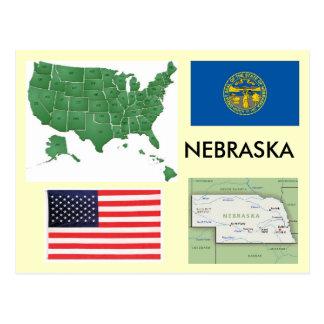 Cartão Postal Nebraska, EUA