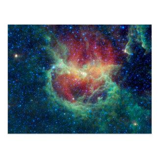 Cartão Postal Nebulosa Centauri do Lambda