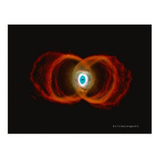 Cartão Postal Nebulosa da ampulheta