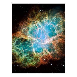 Cartão Postal Nebulosa de caranguejo