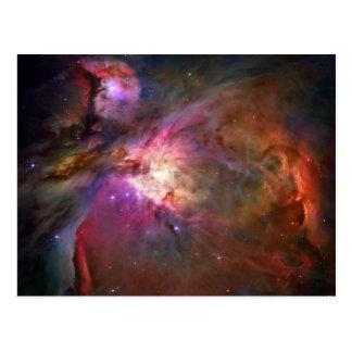 Cartão Postal Nebulosa de Orion (telescópio de Hubble)