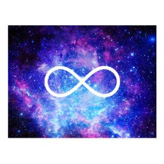 Cartão Postal Nebulosa do símbolo da infinidade