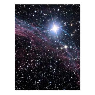 Cartão Postal Nebulosa do véu da NASA ESA