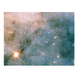 Cartão Postal Nebulosa luminosa de Carina