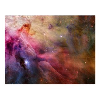 Cartão Postal Nebulosa M42 de Orion