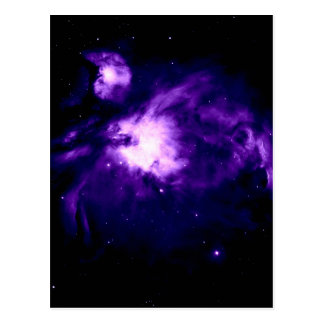 Cartão Postal Nebulosa roxa de Orion: Galáxia