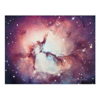 Cartão Postal Nebulosa Trifid