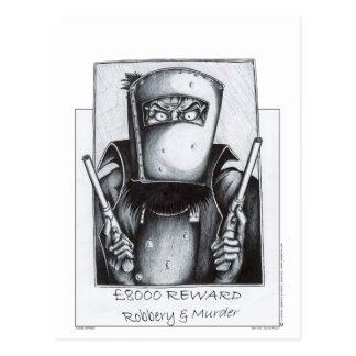 Cartão Postal Ned Kelly (poster querido)