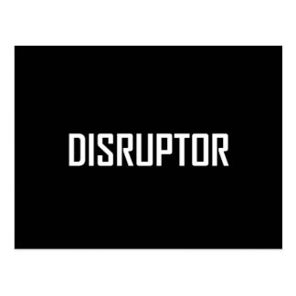 Cartão Postal Negócio da tecnologia do Disruptor