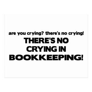 Cartão Postal Nenhum grito na contabilidade