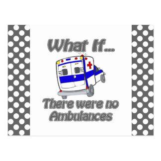 Cartão Postal Nenhumas ambulâncias
