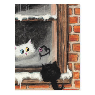 Cartão Postal Nenhumas palavras necessários - gatos dos