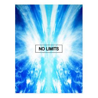 Cartão Postal Nenhuns limites