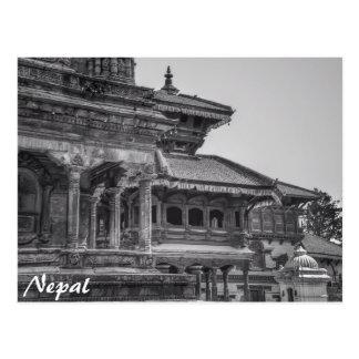 Cartão Postal Nepal antigo