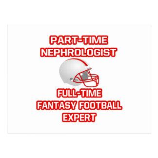 Cartão Postal Nephrologist. Perito do futebol da fantasia
