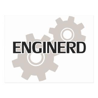 Cartão Postal Nerd do engenheiro de Enginerd