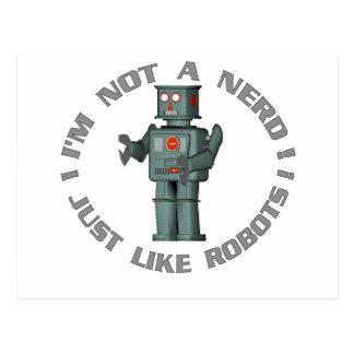 Cartão Postal NerdBot