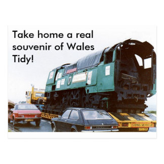 Cartão Postal Neto uma lembrança real de Wales