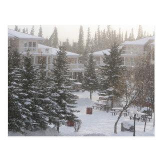 Cartão Postal Nevar em Fairmont Hot Springs