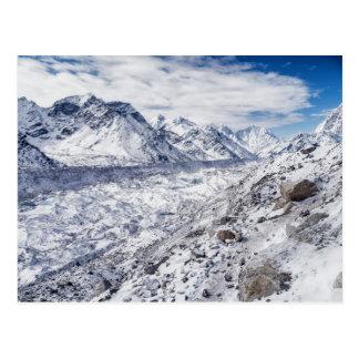Cartão Postal Neve da montanha & geleira (Himalayas)