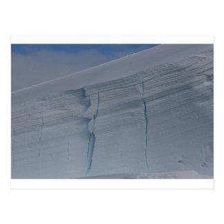 Cartão Postal Neve Sculpted