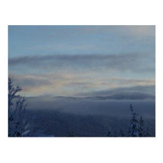 Cartão Postal Névoa da montanha