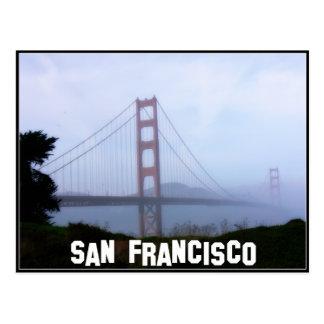 Cartão Postal Névoa de San Francisco