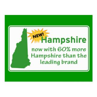 Cartão Postal New Hampshire
