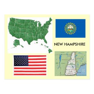 Cartão Postal New Hampshire, EUA