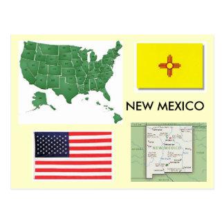 Cartão Postal New mexico, EUA