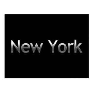 Cartão Postal New York industrial - no preto