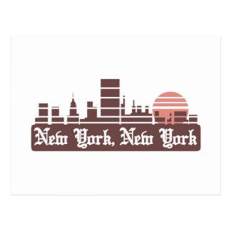 Cartão Postal New York Linesky
