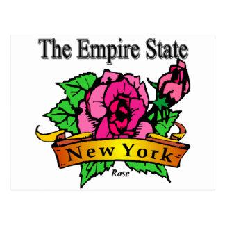 Cartão Postal New York o estado do império