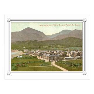 Cartão Postal newcastle, co para baixo, Irlanda do Norte