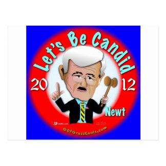 Cartão Postal Newt Gingrich