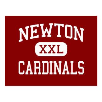 Cartão Postal Newton - cardeais - mais velho - Newton Iowa