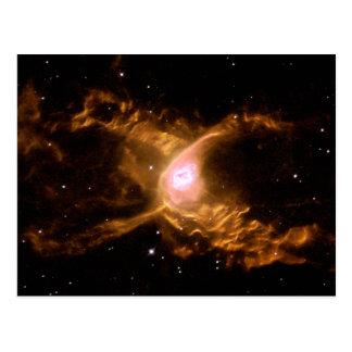 Cartão Postal NGC 6537, a nebulosa da aranha vermelha no