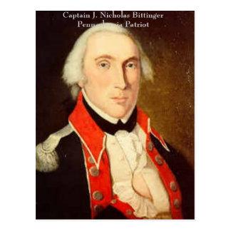Cartão Postal Nicholas Bittinger, capitão J. NIC… -
