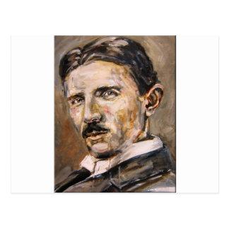 Cartão Postal Nikola Tesla