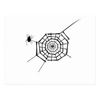 Cartão Postal ninho da aranha