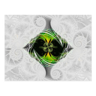 Cartão Postal Nirvana verde